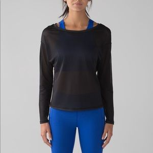 Lululemon Lean In Long Sleeve Black